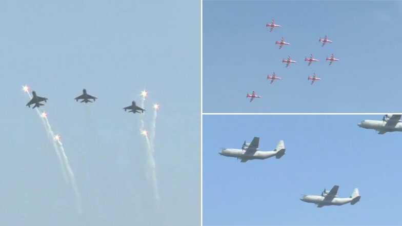 Air Force Day 2019: বায়ুসেনা দিবসে আকাশে মিগ ২১ বাইসন ফাইটার জেট ওড়ালেন উইং কমান্ডার অভিনন্দন বর্তমান (দেখুন ভিডিও)