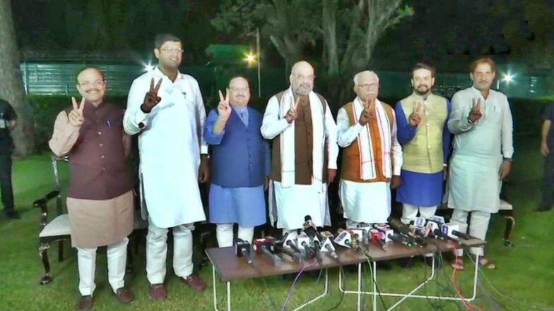 Haryana: হরিয়ানায় ফের বিজেপি সরকার, উপমুখ্যমন্ত্রীর পদে দুষন্ত চৌতালাকে বসিয়ে জেজেপি-র সমর্থন আদায় করে ক্ষমতায় ফিরছেন মনোহর লাল খাট্টার