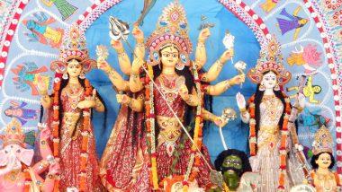 Durga Puja 2019: আজ মহাসপ্তমী, নবপত্রিকা স্নানের পর চলছে মায়ের অঞ্জলি