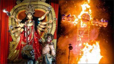 Dusshera 2019: নবরাত্রি শেষে দশেরার মধ্যে দিয়ে অশুভ শক্তির বিনাশ ঘটল দেশজুড়ে সূচনা হল শুভ শক্তির