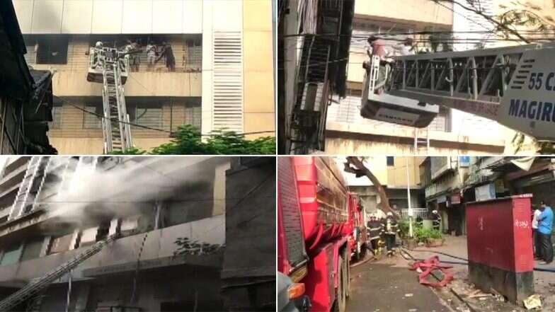 Mumbai: মুম্বইয়ে বহুতলে আগুন, আটকে পড়া প্রায় ৯ কর্মীদের উদ্ধার দমকলের