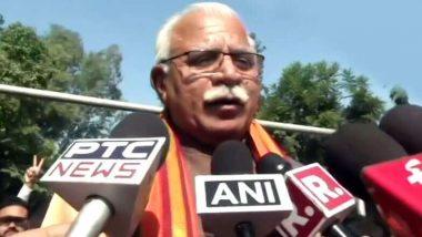 Haryana: কাল, দিওয়ালিতে মুখ্যমন্ত্রী হিসেবে শপথ নিচ্ছেন মনোহর লাল খট্টর, দুজন উপমুখ্যমন্ত্রীর ফর্মুলায় ৪০-এও বাজিমাত বিজেপির