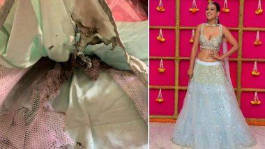 Nia Sharma: সাদা খোলামেলা লেহেঙ্গায় উষ্ণতা ছড়াচ্ছিলেন বেশ, আগুন লেগে হঠাৎ ঘটল বিপত্তি