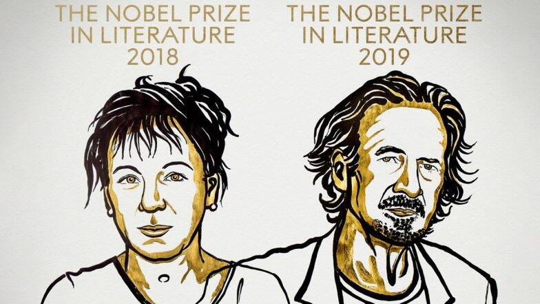 Nobel Prize 2019: সাহিত্যে নোবেল পেলেন ওলগা তোকার্কজুক ও পিটার হান্দকে