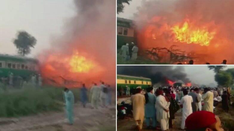 Tezgam Express Fire: সিলিন্ডার ফেটে বিধ্বংসী আগুন পাকিস্তানের তেজগাম এক্সপ্রেসে, দগ্ধ ৬৫ প্রাণ