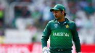 পাকিস্তানের টেস্ট ও টি-টোয়েন্টি দলের অধিনায়কত্ব খোয়ালেন সরফরাজ আহমেদ