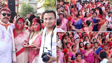 Kali Puja 2019: কালীপুজোয় সিঁদুর খেলা! নতুন ভাবনা নিয়ে লেটেস্টলি বাংলার মুখোমুখি নিউ বারাকপুরের নব বারাকপুর যাত্রিক ক্লাব