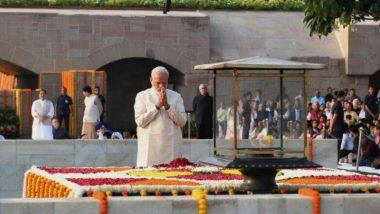 Gandhi Jayanti: গান্ধীজির ১৫০ তম জন্মদিনে রাজঘাটে প্রধানমন্ত্রী নরেন্দ্র মোদির শ্রদ্ধাজ্ঞাপন