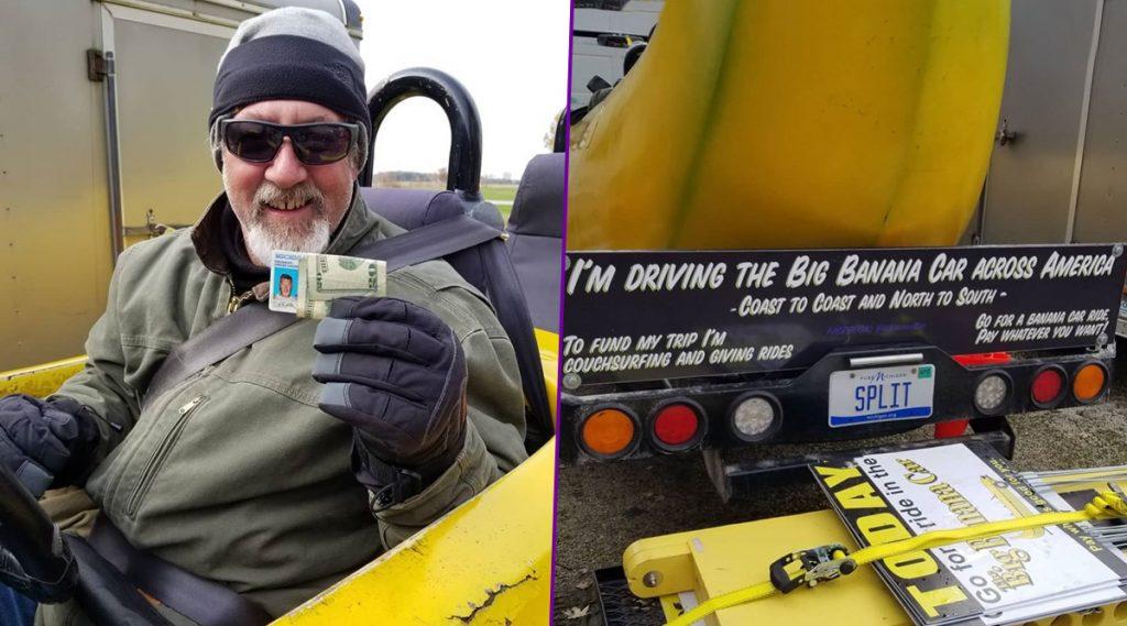 Big Banana Car: ঠিক কলার মত, ১৫ ফুট লম্বা 'বিগ বানানা' গাড়ি দেখে একী কাণ্ড ঘটালেন পুলিশ! দেখুন