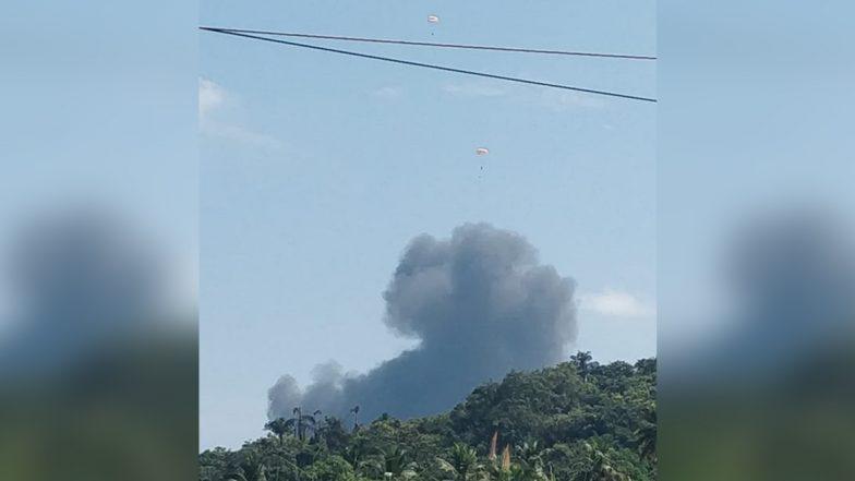 MiG-29K Fighter Aircraft Crash: গোয়ায় ভেঙে পড়ল নৌসেনার মিগ-২৯ কে যুদ্ধবিমান, দুই পাইলটের নিরাপদে অবতরণ