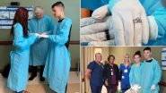 Hospital Wedding: তিনবার পিছিয়ে হাসপাতালেই আংটি বদল করে অভিনব বিয়ে