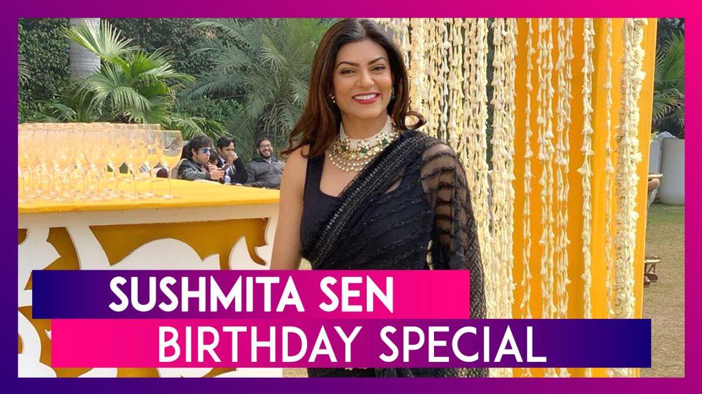 Happy Birthday Sushmita Sen: মাত্র ২৪ বছর বয়সে দত্তক সন্তানের মা হয়েছেন সুস্মিতা সেন, বিশ্বসুন্দরীর জন্মদিনে দেখে নিন কিছু গুরুত্বপূর্ণ ছবি ও ভিডিও