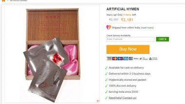 Artificial Hymen for the First Night: অনলাইনে দেদার বিক্রি সতীত্ব প্রমাণে রক্তপাতের ক্যাপসুল, সতীচ্ছদ টানটান রাখার ট্যাবলেট! আধুনিকতা প্রশ্নের মুখে