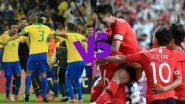 Brazil Verses South Korea, International Friendly 2019 Live Streaming & Match Time in IST: ব্রাজিল বনাম দক্ষিণ কোরিয়া আন্তর্জাতিক বন্ধুত্ব ম্যাচ কখন, কোথায় দেখা যাবে?