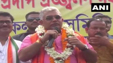Dilip Ghosh on Cow Row: দিলীপ ঘোষের হাত থেকে খাবার খাচ্ছে না গরু, তাহলে কি গো-মাতার আজ একাদশী?