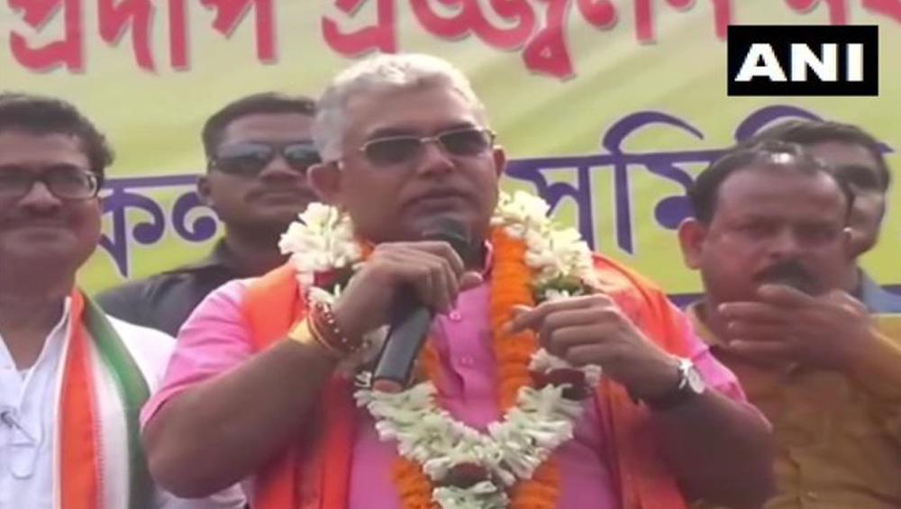 Dilip Ghosh: 'সিএএ ও এনআরসি-র বিরোধিতা করলে এবার লাশ গুনতে হবে', হুমকি দিলেন দিলীপ ঘোষ