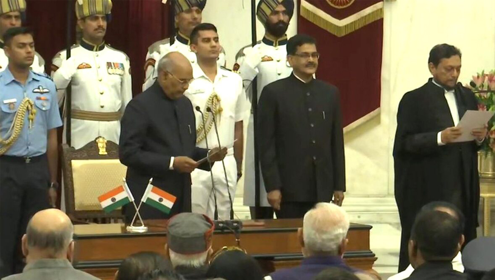 Justice Sharad Arvind Bobde Takes Oath: দেশের ৪৭-তম প্রধান বিচারপতি হিসেবে শপথ নিলেন শরদ অরবিন্দ বোবদে