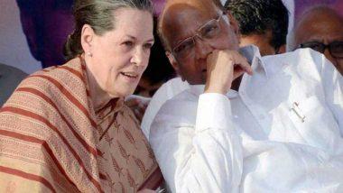 Sonia Gandhi Speaks to Sharad Pawar: মহারাষ্ট্রে জোটে সায় কংগ্রেসের? সিদ্ধান্ত নিতে মুম্বই উড়ে গেলেন কংগ্রেসের তিন শীর্ষ নেতা