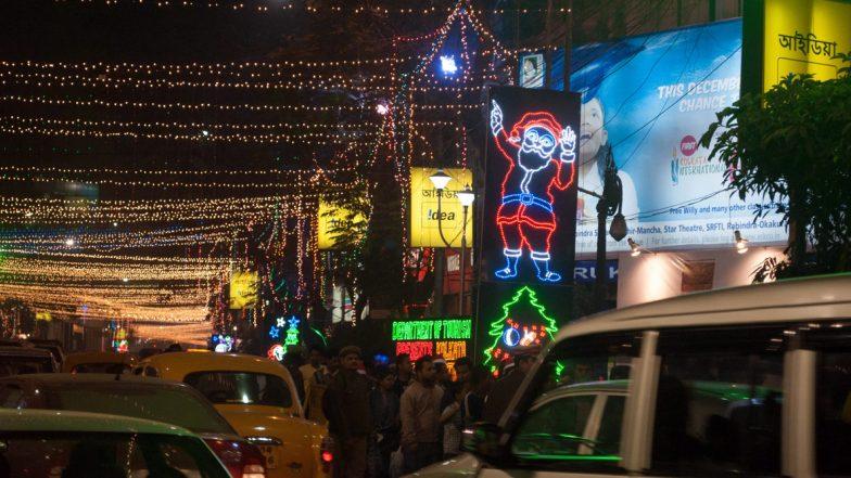 Christmas 2019: বড়দিনের আগেই দেখুন কেমন সেজেছে মোহময়ী পার্কস্ট্রিট