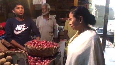Onion Price Hike: অগ্নিমূল্য পেঁয়াজ, পরিস্থিতি জানতে যদুবাবু বাজারে হাজির মুখ্যমন্ত্রী মমতা ব্যানার্জি