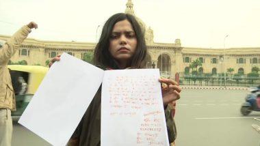 Nirbhaya case: 'ফাঁসি দিতে চাই নির্ভয়াকাণ্ডে দোষীদের', স্বরাষ্ট্রমন্ত্রী অমিত শাহকে রক্ত দিয়ে চিঠি লিখলেন শ্যুটার বর্তিকা সিং