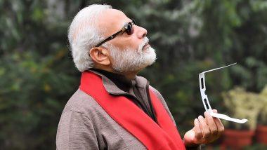 Solar Eclipse 2019: দেড় লাখের রোদ চশমা পরে সূর্যগ্রহণ দেখলেন নরেন্দ্র মোদি, কটাক্ষ নেটিজেনদের