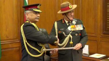 General Manoj Mukund Naravane: সেনাপ্রধান পদে দায়িত্ব নিলেন মনোজ মুকুন্দ নারাভানে