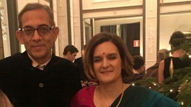 Nobel Laureate Abhijit Banerjee: ধুতি-পাঞ্জাবি পরে বাঙালি হয়েই নোবেল নিলেন অভিজিৎ ব্যানার্জি