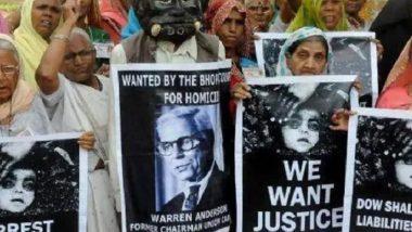Bhopal Gas Tragedy: মানবশৃঙ্খল গড়ে প্রতিবাদ ভোপাল গ্যাসকাণ্ডের ভুক্তভোগীদের