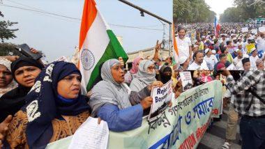Anti CAB Protests: দেশের মুসলিমদের নিশানা করছে কেন্দ্র, সংখ্যালঘুদের এনআরসি-নাগরিকত্ব আইন বিরোধী মিছিলে অবরুদ্ধ কলকাতা