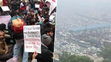 Anti CAA Protests In Delhi: CAA-র প্রতিবাদে বিক্ষোভের জেরে দিল্লি-গুরুগ্রাম জাতীয় সড়কে ব্যাপক যানজট, বাতিল এক ডজনেরও বেশি বিমান