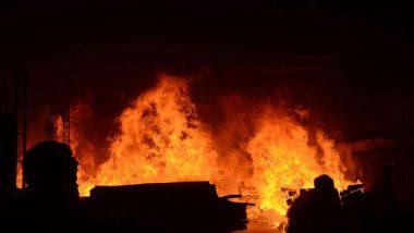 Kolkata Fire: সাতসকালে ভয়াবহ আগুনের গ্রাসে নারকেলডাঙার বস্তি, ছাই ১০০-রও বেশি ঝুপড়ি