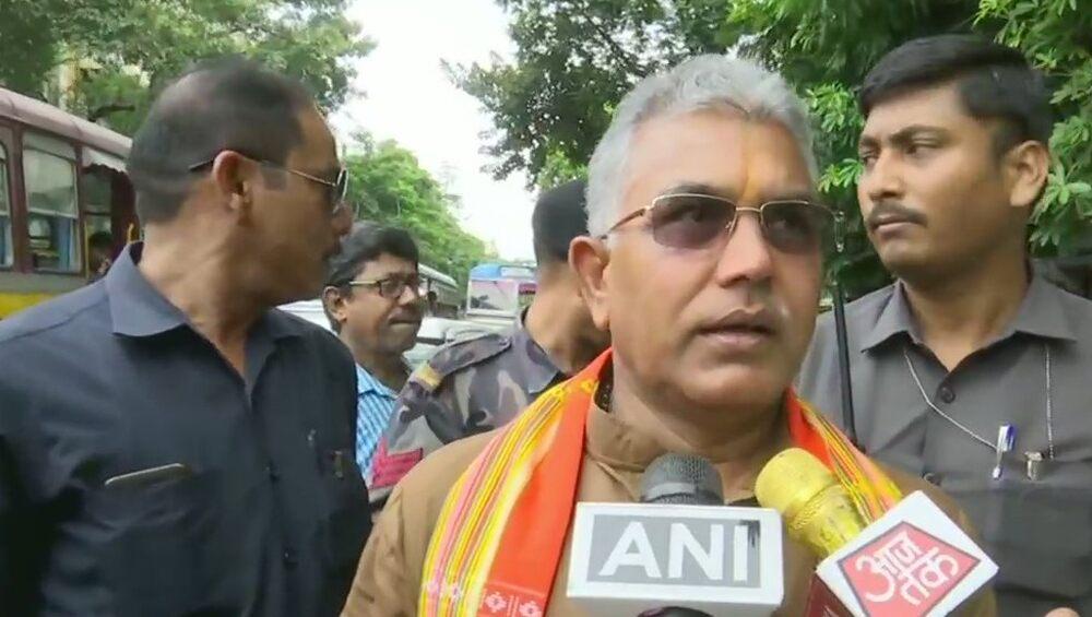 Dilip Ghosh On CM: 'মুখ্যমন্ত্রী পাকিস্তানের সুরে কথা বলছেন', সাতসকালে মন্তব্য বিজেপি রাজ্য সভাপতি দিলীপ ঘোষের