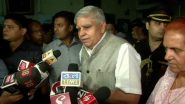Jagdeep Dhankhar: আলোচনায় বসার অনুরোধের বিষয়ে মুখ্যমন্ত্রীর অফিস থেকে জবাব আসেনি: রাজ্যপাল জগদীপ ধনখর