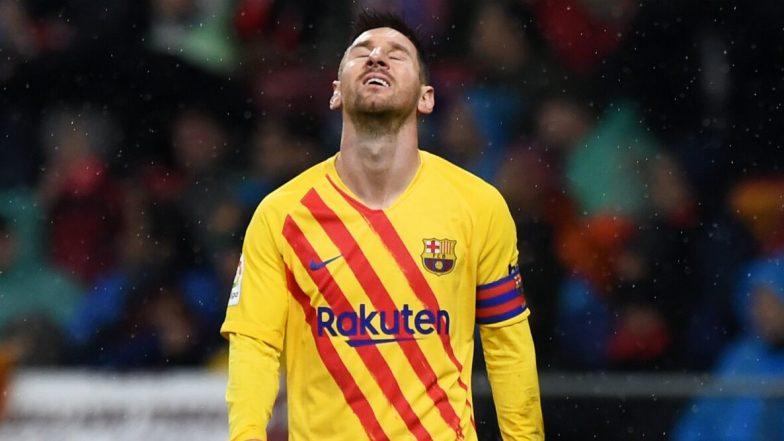 UEFA Champions League 2019–20:  ম্যাচে লিয়োনেল মেসিকে বিশ্রাম দিল বার্সেলোনা