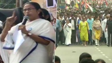 Mamata Banerjee: 'বাংলায় NRC এবং CAB প্রত্যাহার'-র দাবিতে প্রতিবাদ মিছিলে মমতা ব্যানার্জির পাশে নুসরত-মিমি