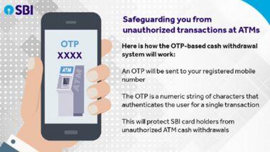 SBI Launches OTP-Based ATM Withdrawal: গ্রাহকের সঞ্চয়কে সুরক্ষিত করতে তৎপর SBI, নতুন বছরে এটিএম-এ গেলেই লাগবে ফোন; কেন জানেন?