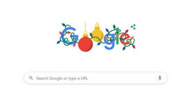 Christmas 2019 Google Doodle Is Here:বড়দিনের ছুটির শুভেচ্ছায় ইউজারদের জন্য নান্দনিক উদযাপনে ডুডল আনল গুগল