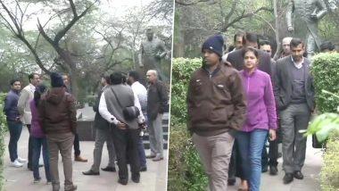 JNU Violence: স্বরাষ্ট্রমন্ত্রকের নির্দেশ মত আজ জেএনইউ পৌঁছল দিল্লি পুলিশের ক্রাইম ব্রাঞ্চের টিম