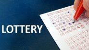 Lottery Sambad Result: লটারি আকর্ষণীয় নগদ পুরস্কার জেতার সুযোগ দেয়, শনিবার রাজ্য লটারির টিকিট কেটেছেন! চট করে অনলাইনে দেখে নিন ফলাফল