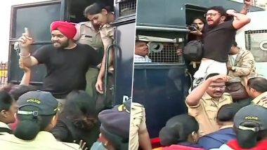 JNU Violence: সাতসকালে গেটওয়ে অফ ইন্ডিয়া থেকে জেএনইউ হামলার প্রতিবাদী আন্দোলনকারীদের সরিয়ে দিল মুম্বই পুলিশ