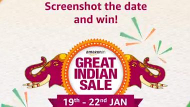 Amazon Great Indian Sale 2020: ১৯ জানুয়ারি থেকে শুরু হচ্ছে অ্যামাজন গ্রেট ইন্ডিয়ান সেল, দেখে নিন কোন জিনিসে কত ছাড়