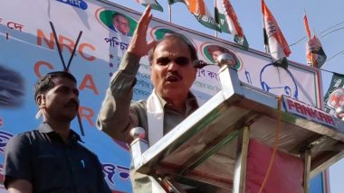 Congress to contest at 48 seats while Left will contest at 68 seats in the upcoming West Bengal elections. So far discussion has been done on 193 seats: State Congress chief Adhir Ranjan Chowdhury