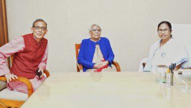 Abhijit Banerjee Met Chief Minister Mamata Banerjee: মুখ্যমন্ত্রী মমতা ব্যানার্জির সঙ্গে সাক্ষাৎ করলেন নোবেল জয়ী অর্থনীতিবিদ অভিজিৎ ব্যানার্জি