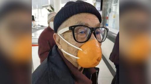 Mask For Coronavirus: মিলছে না করোনাভাইরাসের উপযোগী মাস্ক, কমলালেবুর খোসা, ব্রা, প্লাস্টিকের জারকেই মুখোশ করে মুখে জড়িয়ে ঘুরছেন চিনারা