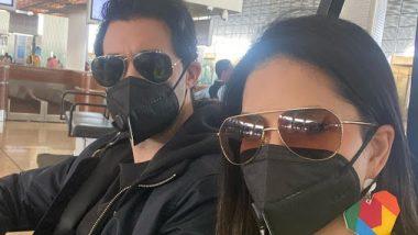 Sunny Leone: করোনাভাইরাসের ভয়ে মাস্ক পরে ঘুরছেন সানি লিওনি!