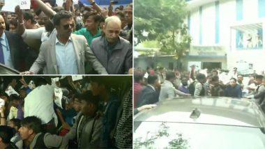 Kolkata: কলকাতা বিশ্ববিদ্যালয়ের সমাবর্তনে এসে ছাত্র বিক্ষোভের মুখে রাজ্যপাল জগদীপ ধনখর