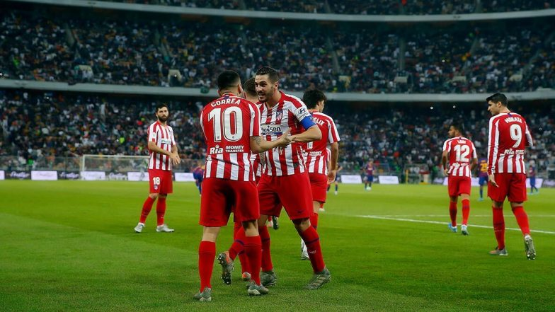 FC Barcelona vs Atletico Madrid Result, Goal Video Highlights: অ্যাঞ্জেল করেরা অ্যাটলেটিকো মাদ্রিদকে সেমিফাইনালে জয়লাভ করিয়ে পৌঁছল সুপারকোপা দে এস্পানা ২০২০ ফাইনালে