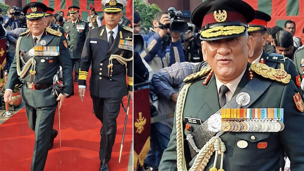 General Bipin Rawat: 'তিন সেনাবাহিনী একটা টিম হিসেবে কাজ করবে', বছরের প্রথম দিনে দায়িত্বভার নিয়ে বললেন চিফ অফ ডিফেন্স স্টাফ জেনারেল বিপিন রাওয়াত