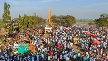 Bhima Koregaon 202nd Anniversary:  ইঙ্গ-মারাঠা যুদ্ধের ২০২ বছর পূর্তিতে ভীমা কোরেগাঁওয়ে  ৫ লক্ষ দলিতের জমায়েত, অশান্তি এড়াতে বন্ধ ইন্টারনেট